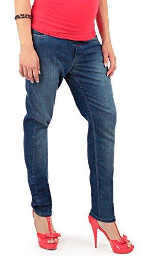 Jeasn Made Deluxe Italy Mamajeans In Vestibilità Gravidanza Bologna Jeans La Boyfriend Per Basso Indigo Cavallo Premaman axw84f7xR