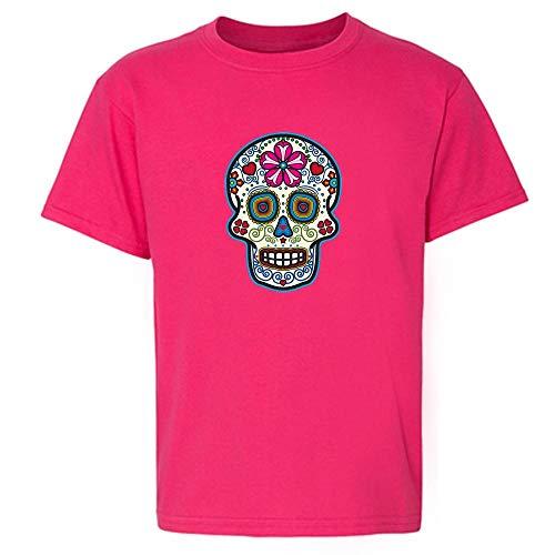 Sugar Skull Dia de Los Muertos Horror Retro