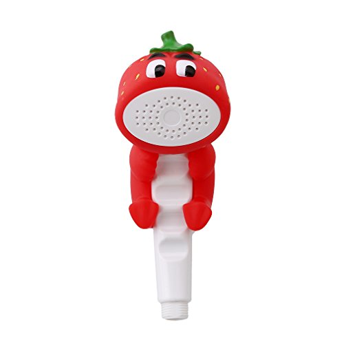 SONG LIN Strawberry Cartoon Animals Bath Toys Shower Head Children Playing Water Spray