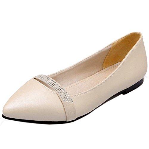Pointue Ballerines Plates Bout RAZAMAZA Femmes Chaussures Confort Escarpins IwqAfxdaT