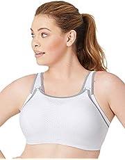 Glamorise Women's Full Figure Elite Performance Adjustable Wonderwire Sports Bra #9167