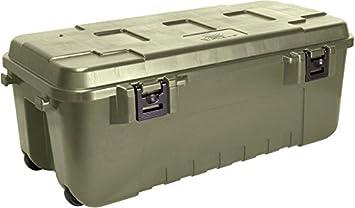 design intemporel 7136d e3dac Plano Malle de rangement militaire résistante Vert olive