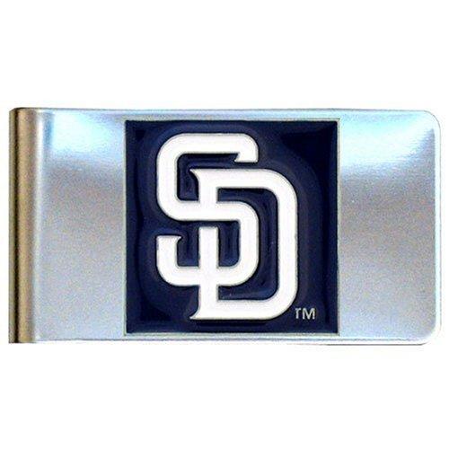 MLB San Diego Padres Steel Money Clip