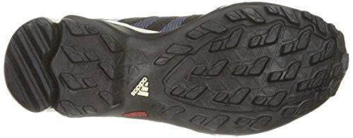 Adidas Ax 2 Gtx zapatos - Carbono / Negro / Rosa Bahía 5 Prism Blue, Black, Super Blush