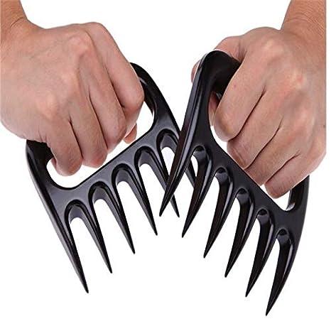 Bear paw claw meat handler fork tong pull shred pork lift toss bbq shredder ZP