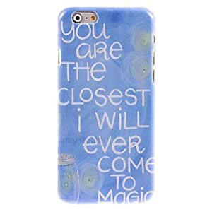 LCJ You Are The Closest Design Hard Case for iPhone 6 Plus