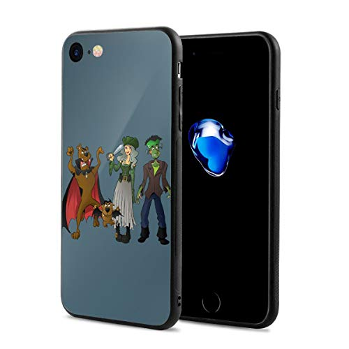 Sheridan Reynolds Halloween Scooby-doo iPhone 7, iPhone 8 Silicone Case Gel Rubber Slim Fit Soft Cover Case Full Body Protection for iPhone 7/iPhone 8 (4.7