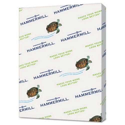 HAMMERMILL/HP EVERYDAY PAPERS 102210CT Recycled Colored Paper, 20lb, 8 1/2 x 11, Cherry, 5,000 Sheets/Carton by Hammermill
