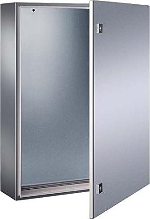 Rittal AE 1015.600 Acero inoxidable IP66 caja eléctrica - Caja para cuadro eléctrico (400 mm, 210 mm, 500 mm): Amazon.es: Bricolaje y herramientas