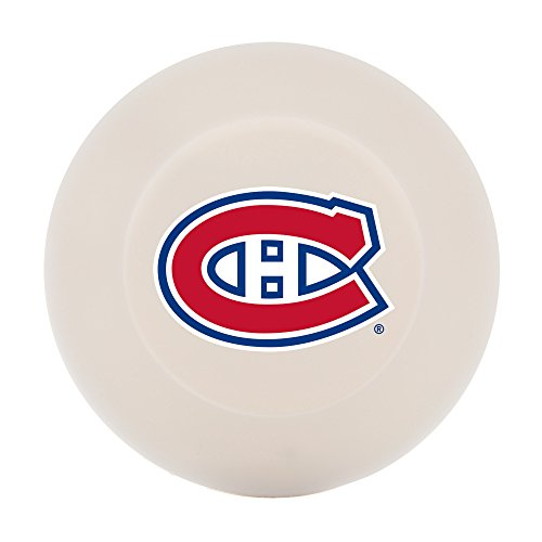 Franklin Sports Montreal Canadiens Street Hockey Puck - Molded PVC Team Logo Puck for Smooth Surfaces - NHL Official Licensed Product