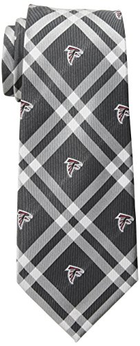 Eagles Wings NFL Atlanta Falcons Men's Woven Polyester Rhodes Necktie, One Size, Multicolor
