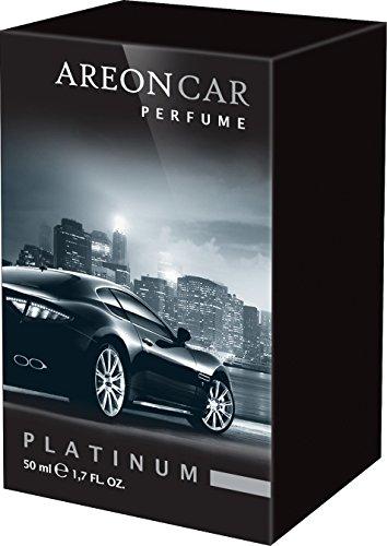 Areon Car Perfume 1.7 Fl Oz. (50ml) Glass Bottle Air Freshener, Platinum (Areon Car Spray compare prices)