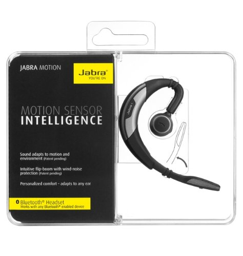 Jabra Motion Bluetooth Mono Headset Retail Packaging Gray Import It All