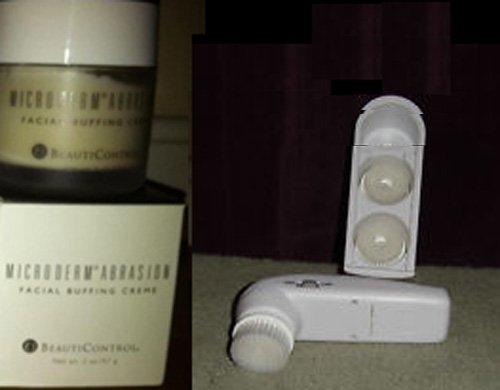 BeautiControl Microderm Abrasion Facial Buffing Creme & 4-Piece Buffer Brush Set
