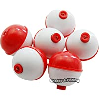 Easy Catch ® Snap on Float Bobbers Hard ABS Push Button...