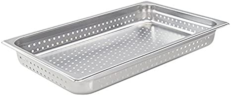 4-Inch Deep One-Third Size Anti-Jamming Steam Table Pan Winco SPJH-304