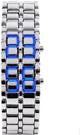 Metal Domire Lava estilo reloj LED Digital amarrarme