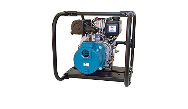 IPT Diesel Dredge Pump - 2 Inch Ports, 10, 380 GPH, 1/2 Inch