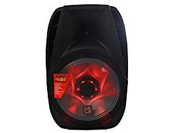 "Mr. Dj PLBAT15 15"" Bluetooth Portable Speaker, USB/SD/FM Radio, Rechargeable Battery, Medium by Mr. Dj Inc."