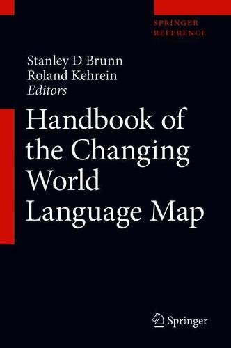 Buy Handbook of the Changing World Language Map Book Online