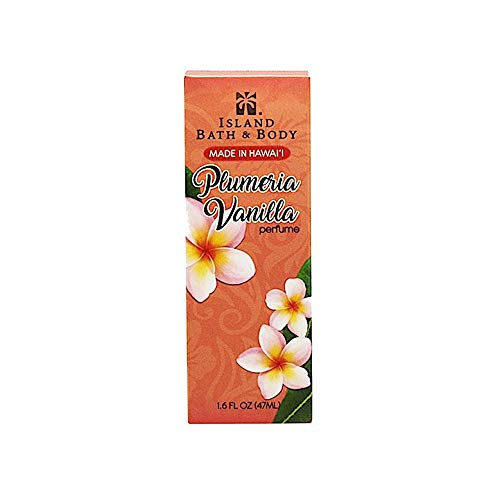 The Island Bath & Body Perfume Plumeria Vanilla 1.6 Ounce