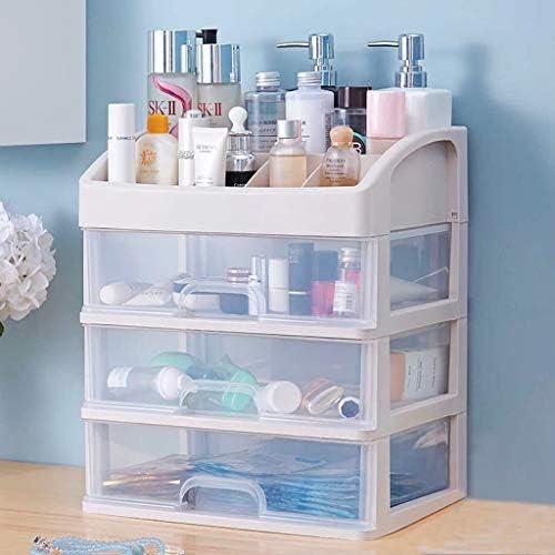 HAPzfsp 化粧品収納ボックス 化粧収納ボックス化粧オーガナイザーバスルームの寝室のための多層引き出し、あなたの化粧台をもっときれいに保つ 化粧品オーガナイザー、更衣室、化粧台