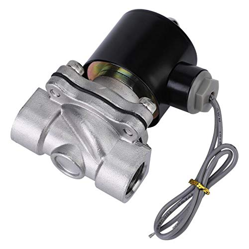 G1//2 Stainless Steel 304 Normally Closed Electric Solenoid Valve 2 Position 2 Way 24V