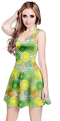 Lemon Fruits Surf CowCow Strawberry XS Slices Light 5XL Beach Tropical Sleeveless Pineapple Banana Toucan Dress Womens Hawaii Summer qYAawUAH