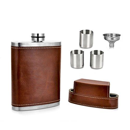 GENNISSY Pocket Hip Flask Funnel