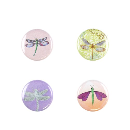 Il Bere Wine and Drink Charms Animal Collection, Dragonflies in Flight by Il Bere