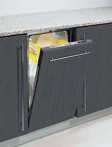 Fagor LVF453IT Totalmente integrado 9cubiertos A+ lavavajilla - Lavavajillas (Totalmente integrado, Acero inoxidable, Botones, LED, 9 cubiertos, 48 dB)