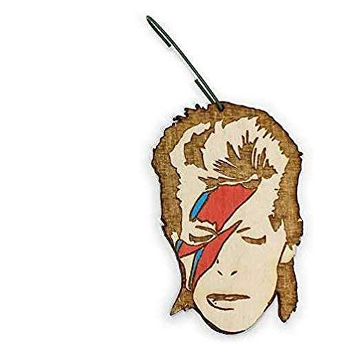 Rockstar Christmas Ornament | Lightning Bolt Rear View Mirror Hanging | Holiday Decoration Gift