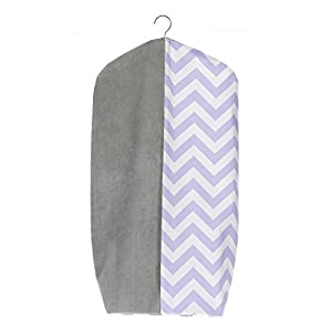 Sweet Potato Swizzle Diaper Stacker, Purple/Grey/White