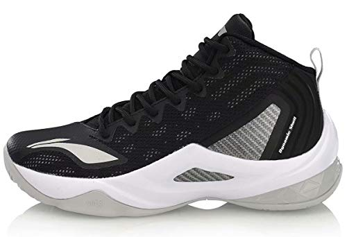 LI-NING Wade All in Team Men Basketball Shoes Lining Professional Male Sport Shoes Sneakers Return On Court Black White ABPP037-1H US 12