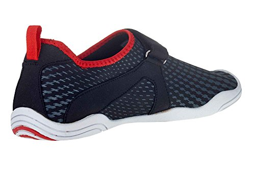 Ballop Aqua Fit Active Velcro Type, Size:41.5 - 42.5;Color:Typhoon Black