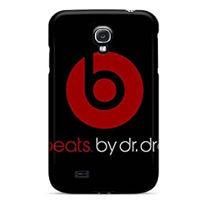 Shock-Absorbing Cell-phone Hard Covers For Samsung Galaxy S4 With Allow Personal Design HD Beats By Dr Dre Pattern JamieBratt