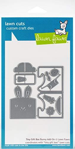 Lawn Fawn Lawn Cuts Custom Craft Die LF1610 Tiny Gift Box Bunny Add-On (Lawn Fawn Bunnies)