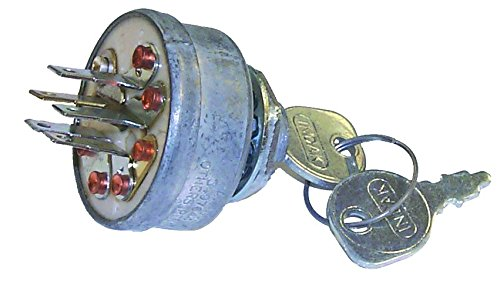 (Prime Line 7-01854 Ignition Switch Replacement for Model John Deere AM102544, AM31995 Lawnboy 741308 MTD 725-0267 Scag 48017 Simplicity 178280)