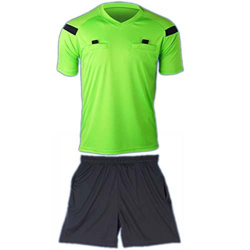 COOLOMG Soccer Climacool Sleeve Referee
