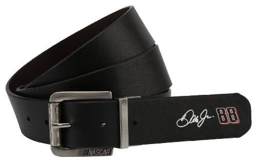 NASCAR Motorsports Men's Earnhardt Jr Signature Reversible Belt, Brown/Black