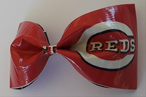 Cincinnati Reds MLB Duct Tape Hair Clip Bow