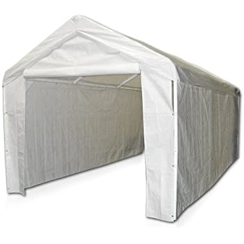 Caravan Canopy Side Wall Kit For Domain Carport, White