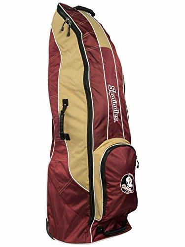 肥料こっそりグラディスFlorida State SeminolesチームゴルフレッドゴルフクラブWheeled Luggage Travel Bag