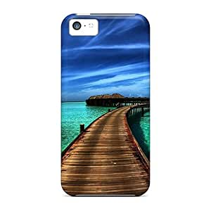 KowTbhg4325jHnxe Tpu Phone Case With Fashionable Look For Iphone 5c - Amazing Sea Resort