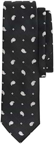 Salt & Dapper Mens Woven Silk Luxury Tie With Tie Bar & Giftbox