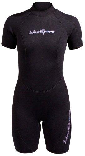 NeoSport Wetsuits Women's Premium Neoprene 3mm Shorty