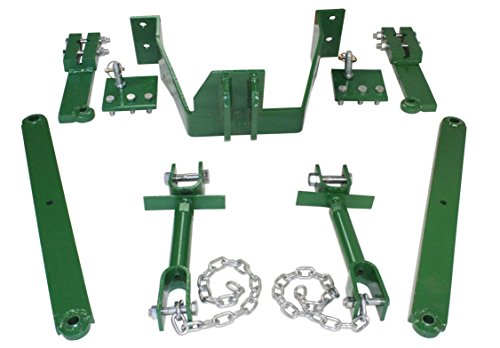 John Deere 3 Point Hitch Bolt on Conversion Kit for models A B G 50 60 and 70's by Titan Attachments