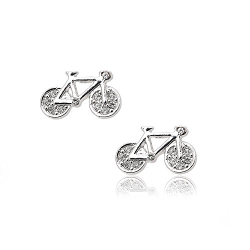 chelseachicNYC High Gloss Old Bicycle Stud Earrings