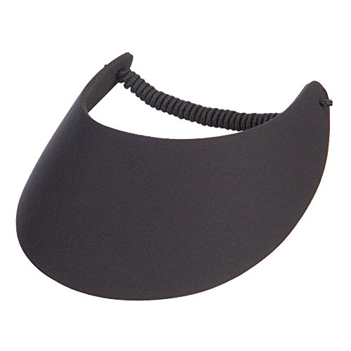 OTTO Fabric Foam Soft Visor - Black OSFM