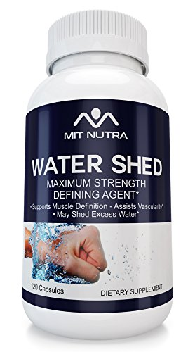 Best Water Shed For Healthy Fluid Balance with Juniper Berry, Uva Ursi and much more Maximum Strength Defining Agent by MIT NUTRA